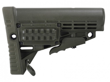 CAA Collapsible Butt Stock Green