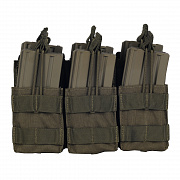 Condor Triple Stacker Open-Top M4 Mag Pouch OD