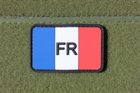 JTG French Flag Patch Fullcolor