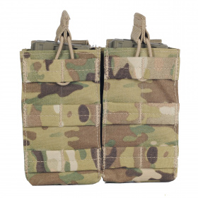 Condor Double Open-Top M4 Mag Pouch Multicam