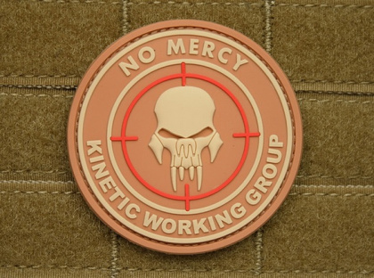 JTG No Mercy - Kinetic Working Group Patch Desert