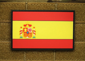 JTG Spain Flag Patch Fullcolor