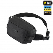 M-Tac сумка Tactical Waist Bag Elite Hex Black