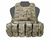 WAS Raptor M4 Plate Carrier Set Multicam