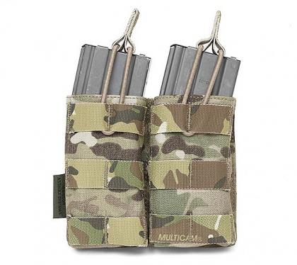 WAS Double MOLLE Open 5.56mm Pouch Multicam