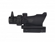 China made ACOG-style Red/Green Dot Scope (with iron sight) Black