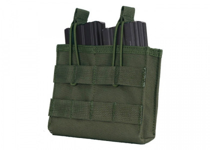 Pantac Double Mag Pouch Open Olive