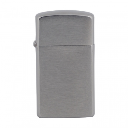 ZIPPO зажигалка brushed chrome 2