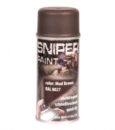 Fosco Army Paint Spray Mud Brown 150ml