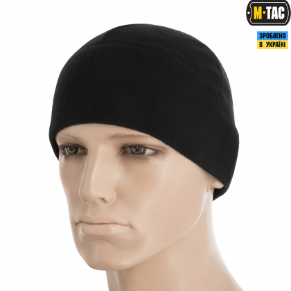 M-Tac шапка Watch Cap Elite флис Windblock 295 Black