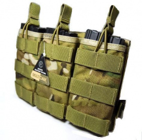 Flyye MOLLE EV Universal Triple Mag Pouch Multicam