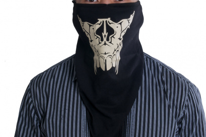 TMC Sabertooth Skull Mask Model E Black