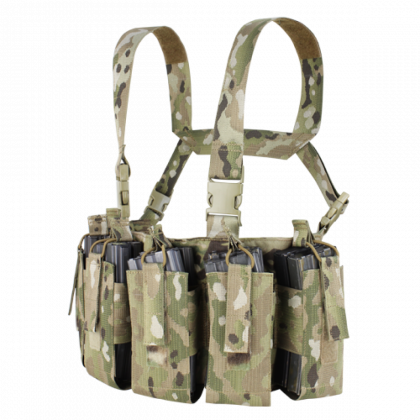 Condor Barrage Chest Rig Multicam